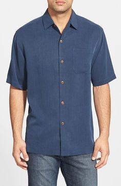 Tommy Bahama 'San Clemente' Original Fit Silk Campshirt