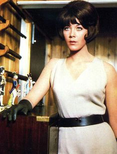 Linda Thorson as Tara King, The Avengers. this is who i was named after.