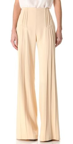 very unique - art deco pants! classic lines with a beautiful vintage feel