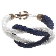 Tutorial DIY How To - How to: Ladies Anchor Bracelet #Jewelry #Beading #Macrame | Beadaholique