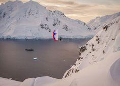 Para Skiing. photo of a skiing expedition by Jim Harris