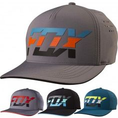 Fox Racing Seca Splice Mens Flexfit Hats 991b19134e1