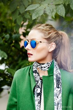 The Olivia Palermo Lookbook : Olivia Palermo is WHO WHAT WEAR Celebrity Street Style Star of the Year