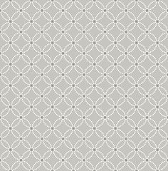 Sample Kinetic Grey Geometric Floral Wallpaper from the Symetrie Collection by Brewster Home Fashions