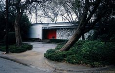Glenn Allen Galaway Designed Mid-Century Modern Significant Home. 7010 Airline Dr.