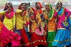 Folk dancers, India