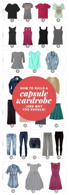 How to Build a Capsule Wardrobe (And Why You Should)