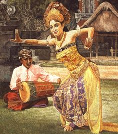 I+Made+Kedol - Balinese+Dancers