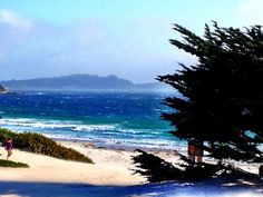 Carmel By The Sea - quaint little town with fun window shopping, dreamy cottages, and pristine beaches. Places Around The World, Around The Worlds, Vacation Images, Peter Lawford, Honeymoon Spots, Carmel By The Sea, Cannon Beach, California Dreamin', Beach Town