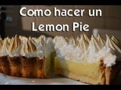 Receta: Pie De Limon Casero - Silvana Cocina Y Manualidades - YouTube