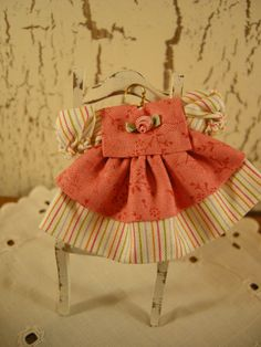 miniature dollhouse dress.