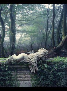 Sleeping Angel by Pancheva