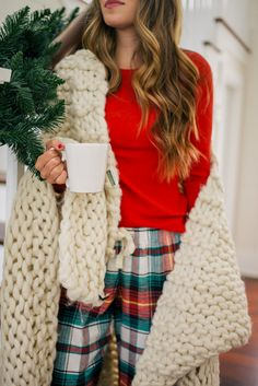 gal meets glam holiday red old navy thermal tee pants co christmas - Christmas Pajamas Old Navy