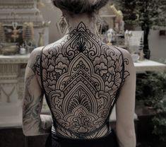 Gallery - Blackwork - Page 2 | Heartbeatink Tattoo Magazine Bild Tattoos, Body Art Tattoos, Tribal Tattoos, Sleeve Tattoos, Arabic Tattoos, Celtic Tattoos, Symbolic Tattoos, Tatoos, Tattoo Kits