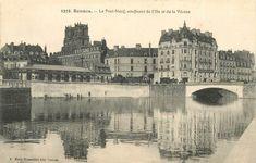 RENNES - Le Pont Neuf, confluent de l'Ille et de la Vilaine