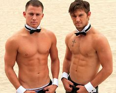 Channing Tatum & Matt Bomer in the upcoming flick Magic Mike. YUMMY