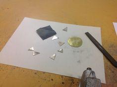 Pieces of my sun. #metalsclass