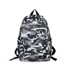 Linsam Camouflage Backpack Daily Backpack for Teenager Youth Girls / Boys ** See this great and useful item.