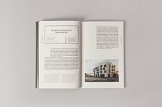 Editorial design for the Marseille based architecture studio Gilles Sensini. The book presents photographs, texts and miscellaneous documents about the buildings and studies realised by the studio during 2013 and 2014.
