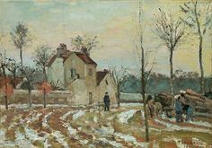 art pissarro pissarro french pissarro paintings pissarro 1830 1903 oil ...