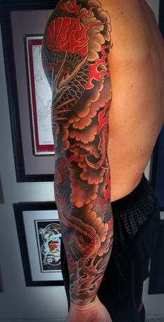 chris garver dragon tattoo designs - Google Search
