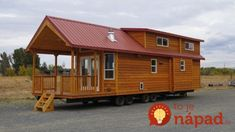 This is the 399 sq. Pacific Loft Tiny House on Wheels by Rich's Portable Cabins in Oregon and I think you're going to love it! Come check it out! Tiny House Plans, Tiny House On Wheels, Tiny House Living, Cozy House, Cozy Cabin, Cedar Cabin, Portable Cabins, Park Model Homes, Cedar Siding