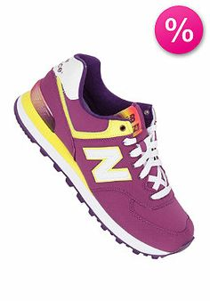 NEW BALANCE - Womens WL574 B purple (50% off)