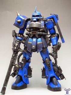 "Custom Build: 1/48 Megasize Zaku II ""Ramba Ral Desert Spec"" - Gundam Kits Collection News and Reviews"