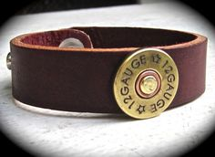 Shotgun shell bracelet!