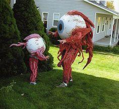 Great costume idea! Eye love it! Wow