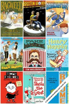 Fabulous books for an 8 year old boy!!! (or girl!) Click for entire list.