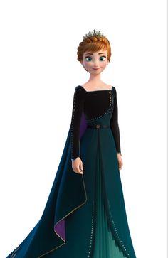 anna frozen Queen Anna of Arendelle from Frozen 2 Anna Disney, Princesa Disney Frozen, Disney Frozen Elsa, Cute Disney, Arendelle Frozen, Frozen Movie, Images Of Frozen, Frozen Pictures, Frozen Pics