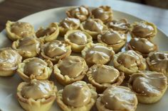 AH! I made these mini pies and they were to die for. I changed a few things: I did not use canned milk, I used a little organic milk instead.  And I made my own pie crust and whipped cream. easy! yum!