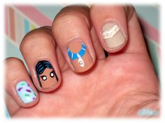 Las uñas de Julia: Nails Art Pocahontas / Princesas Disney