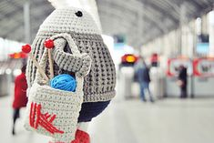 Ravelry: Felix the happy knitter pattern by Maria Sommer