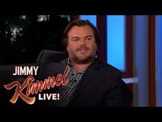 Jimmy Kimmel Live: Jack Black's New Book: Sexy Fat