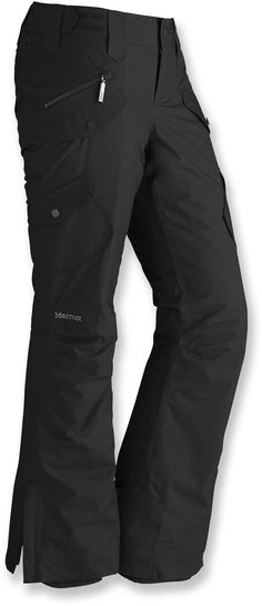 The slim-fit Marmot Divine pants have a waterproof design, warm insulation and a stylish, low-rise fit. Outdoor Wear, Outdoor Outfit, Pantalon Slim Fit, Best Hiking Pants, Calvin Klein, Winter Gear, Winter Fun, Ski Pants, Loose Pants
