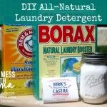 How to Make DIY All-Natural Laundry Detergent. I used to make this all the time until the water softner busted a shitty. Does not work well with hard water.