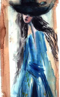 La vestaglia di Albertine   I lunghi veli di Ophélia