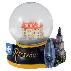 Snieglente Rzeszów 45 mm. Snieguolas, kuriame miesto rotuše yra Žešovas. #rzeszów Snowball, Snow Globes, Decor, Decoration, Dekoration, Inredning, Interior Decorating, Deco, Decorations