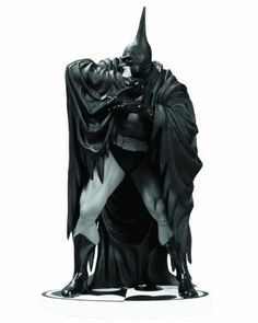#Action Figure DC Collectibles Batman Black and White: Batman Statue By Kelley Jones New Edition