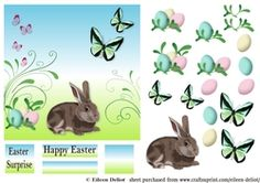 Easter Rabbit on Craftsuprint - View Now!