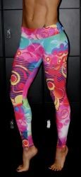 Booty Fits Abstract Leggings