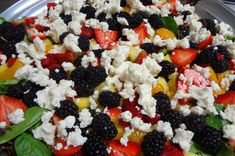 Health and amazing Fruit & Cheese Salad