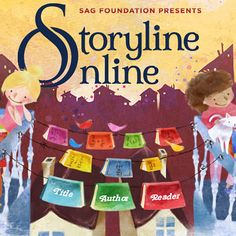 INSTRUCTION: Storyline Online is a website filled with engaging children's stories read out loud by actors. This is a motivator for literacy as children enjoy listening to stories being read to them. Social Emotional Learning, Social Skills, Read Aloud Books Online, Storyline Online, Free Kids Books, Z Book, Online Stories, Social Stories, Reading Comprehension Strategies