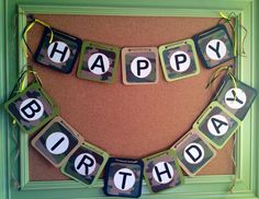 Camouflage Party Birthday Banner Army party decor by Happyzinnia