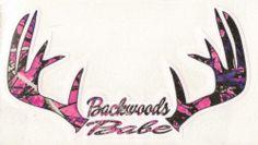 ~**NEW ITEM**~ Backwoods Babe Muddy Girl Camo  Vinyl Decal / Sticker