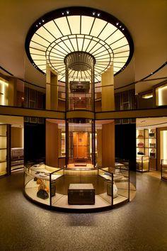 Moynat Maison, Paris, France designed by Curiosity Retail Interior Design, Retail Store Design, Retail Shop, Interior Exterior, Luxury Store, Retail Concepts, Exhibition Stand Design, Store Interiors, Commercial Interiors