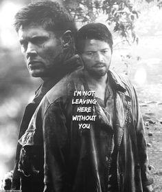 Dean & Castiel Purgatory | Supernatural