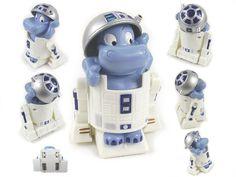 Weiteres - Ü-Ei Happy Hippo R2-D2 Roboter Kinder-Überraschung - ein Designerstück von made-at-home bei DaWanda